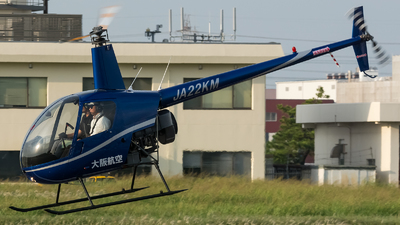 JA22KM - Robinson R22 Beta II - Osaka Aviation