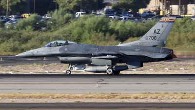 90-0708 - Lockheed Martin F-16C Fighting Falcon - United States - US Air Force (USAF)