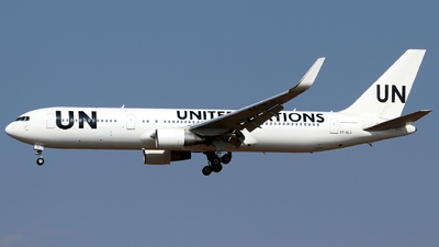 ET-ALJ - Boeing 767-360(ER) - United Nations (Ethiopian Airlines)