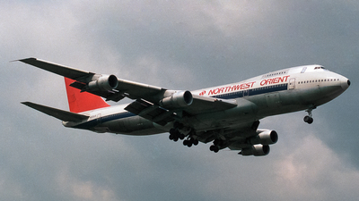 N602US - Boeing 747-151 - Northwest Orient Airlines