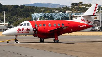 ZK-LFT - British Aerospace Jetstream 32 - Life Flight