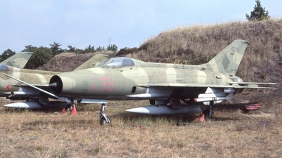 736 - Mikoyan-Gurevich MiG-21F-13 Fishbed C - German Democratic Republic - Air Force