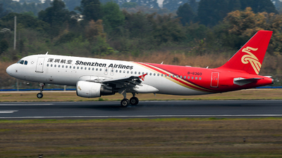 A picture of B6360 - Airbus A320214 - Shenzhen Airlines - © Ohara Mari