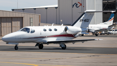 A picture of VHMSU - Cessna 510 Citation Mustang - [5100300] - © CATHAY246