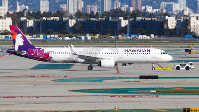 N214HA - Airbus A321-271N - Hawaiian Airlines