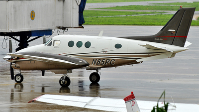 N85PC - Beechcraft C90A King Air - Private