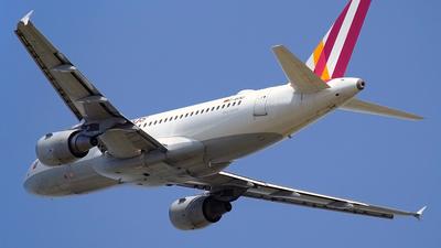 D-AKNU - Airbus A319-112 - Germanwings