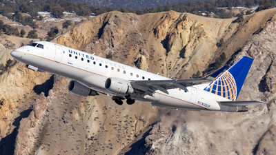 A picture of N135SY - Embraer E175LR - United Airlines - © HA-KLS