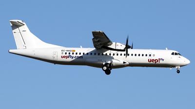 EC-KKQ - ATR 72-212A(500) - Uep! Fly