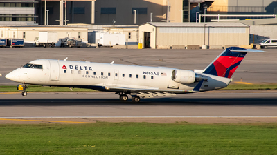 A picture of N885AS - Mitsubishi CRJ200LR - Delta Air Lines - © Twin Cities Spotter