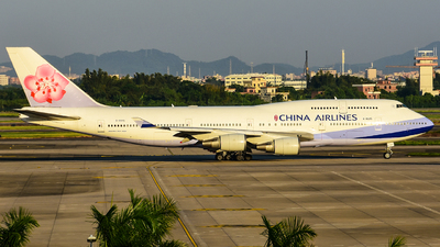 B-18215 - Boeing 747-409 - China Airlines