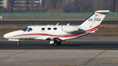 OE-FOG - Cessna 510 Citation Mustang - GlobeAir