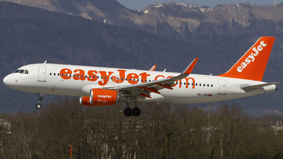 HB-JXH - Airbus A320-214 - easyJet Switzerland