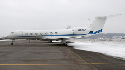N168NJ - Gulfstream G550 - Private