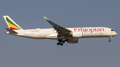 ET-ATY - Airbus A350-941 - Ethiopian Airlines