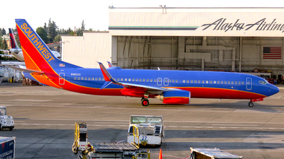 N8601C - Boeing 737-8H4 - Southwest Airlines