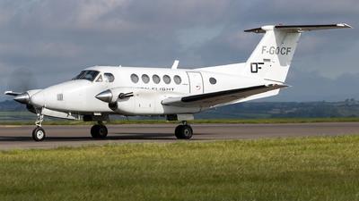 F-GOCF - Beechcraft 200 Super King Air - Private
