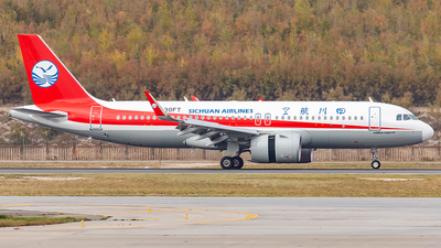 A picture of B30FT - Airbus A320271N - Sichuan Airlines - © Yan Shuai