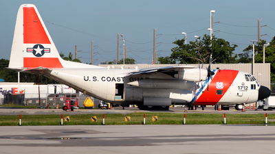 1712 - Lockheed HC-130H Hercules - United States - US Coast Guard (USCG)