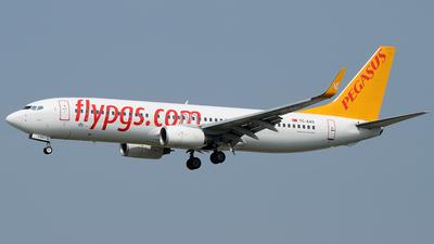TC-AAS - Boeing 737-82R - Pegasus Airlines