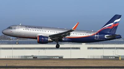 A picture of VPBTO - Airbus A320214 - Aeroflot - © AL-Alan Lebeda