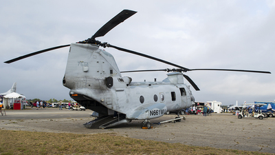 N661WU - Boeing Vertol CH-46E Sea Knight - United States - Department of State