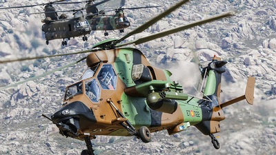 HA.28-22 - Eurocopter EC 665 Tiger HAD - Spain - Army