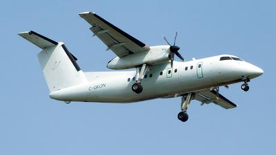 A picture of CGKON - De Havilland Canada Dash 8100 - Voyageur Airways - © mariaLXY