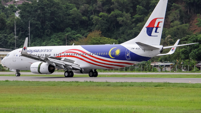 A picture of 9MMXF - Boeing 7378H6 - Malaysia Airlines - © Kody Chin