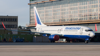 EI-RUE - Boeing 737-85P - Transaero Airlines