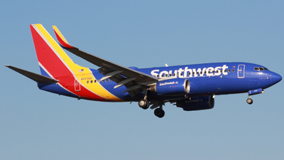 N777QC - Boeing 737-7H4 - Southwest Airlines