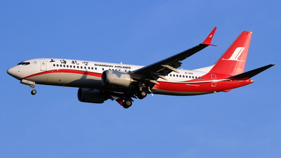 B-1150 - Boeing 737-8 MAX - Shanghai Airlines