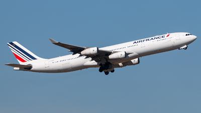 F-GLZR - Airbus A340-313X - Air France
