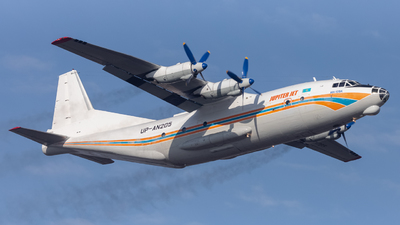 UP-AN205 - Antonov An-12BK - Jupiter Jet Airlines