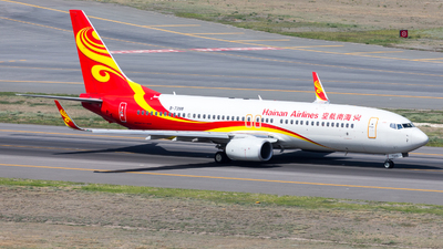 A picture of B7398 - Boeing 73786N - Hainan Airlines - © UNNAMED
