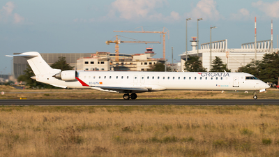 EC-LPG - Bombardier CRJ-1000 - Croatia Airlines (Air Nostrum)