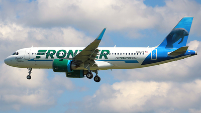 N374FR - Airbus A320-251N - Frontier Airlines