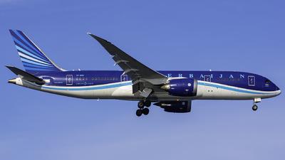 VP-BBR - Boeing 787-8 Dreamliner - AZAL Azerbaijan Airlines