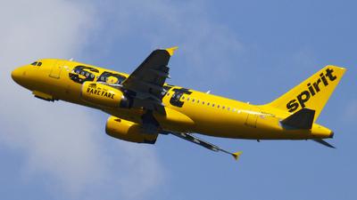 N503NK - Airbus A319-132 - Spirit Airlines