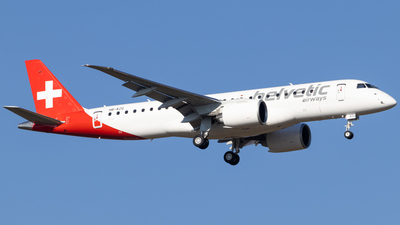 HB-AZG - Embraer 190-300STD - Helvetic Airways