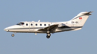 OK-BII - Beechcraft 400A Beechjet - Queen Air