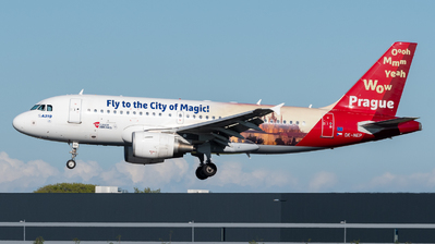 OK-NEP - Airbus A319-112 - CSA Czech Airlines