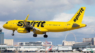 A picture of N619NK - Airbus A320232 - Spirit Airlines - © Alexandre Fazan