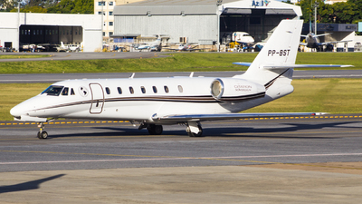 A picture of PPBST - Cessna 680 Citation Sovereign - [6800184] - © Gabriel Wallace