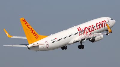 TC-CPU - Boeing 737-86N - Pegasus Airlines