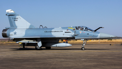 FAB4949 - Dassault Mirage 2000C - Brazil - Air Force