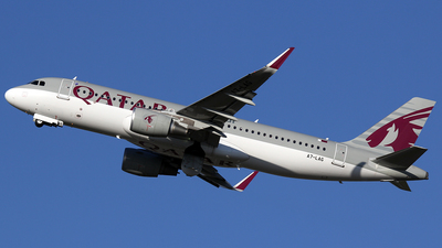A7-LAG - Airbus A320-214 - Qatar Airways
