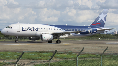 A picture of CCBAU - Airbus A320214 - LATAM Airlines - © Angel Reyes H.