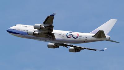 N337JX - Boeing 747-409 - JetOneX