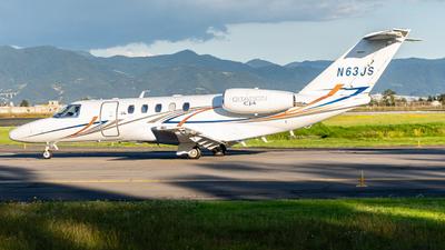 N63JS - Cessna 525 Citationjet CJ4 - Private